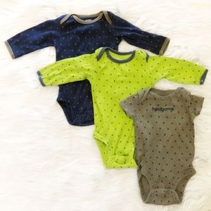 3 Piece Bodysuit Set
